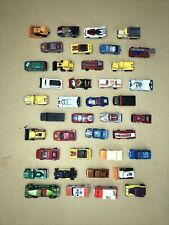 Lot of 40 Matchbox Vehicles From The 70's & 80's Diecast and Plastic Cars Trucks