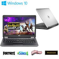 "Dell Gaming Laptop E7240 I5 8GB 128GB SSD Windows 10 HD HDMI 12"" FORTNIGHT"