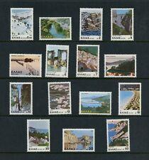 R940 Greece 1979 views scenes tourism 15v. Mnh