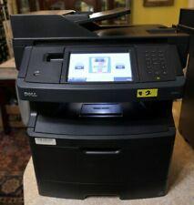 Black Dell 3333dn Multi-function 110V Wireless Laser Printer w Cord & Trays