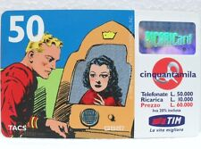 """SCHEDA TELEFONICA RICARICARD-""""FLASH GORDON e DALE""""-VAL. Lire 50.000-sc. DIC 2000"""