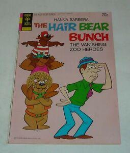 HANNA BARBERA The HAIR BEAR BUNCH # 9 GOLD KEY COMICS 1974 CARTOON CHARACTERS