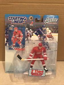 New Hasbro SLU Steve Yzerman Action Figure Sealed Philadelphia Red Wings Hockey