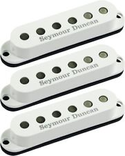 Seymour Duncan SSL-3 CSET Hot Single Coil Strat 3 Pickup Calibrated Set, White