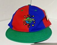 Universal Studios Child Hat Red blue green Snapback new with tag