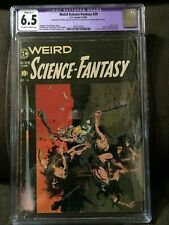 Weird Science- Fantasy #29  CGC RESTORED 6.5 OW to White pages  Frazetta cover