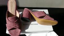 Marc Jacobs chaussures mule sabot daim rose neuves pointure 37