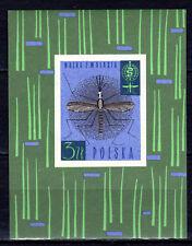 Poland - 1962 Fight Malaria - Mi. Bl. 27 MNH