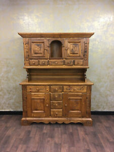 Voglauer Anno 1600 Cottage Antique Buffet Wardrobe Sideboard Farmhouse Credence