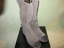 Kelsi Dagger NEW 9.5M Tassie Taupe Unstructered Soft Suede Pull On Boots CUTE!