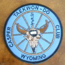 "Casper Taekwon-Do Club Patch - Martial Arts - Wyoming - 4"" x 4"""