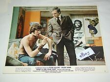 """1970 THERE'S A GIRL IN MY SOUP Peter Sellers Movie Lobby Card Photo 8 x 10 """"D"""""""