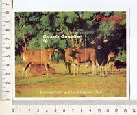36802) Grenada Gren. 1993 MNH Indopex, Cattle, Cow S/S