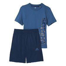 Completi blu per bambine dai 2 ai 16 anni 100% Cotone