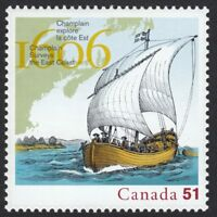 400 Years of FRENCH SETTLEMENT = 3rd stamp of 5 year set = MNH Canada 2006 #2155