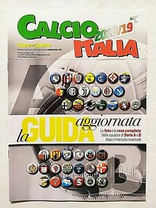 CALCIOITALIA 2018-2019 GUERIN SPORTIVO CALCIO ITALIA FIGURINE STAMPATE NO PANINI