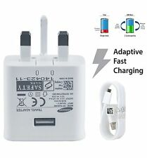 Official Samsung Galaxy FAST Charger & Cable Note 3 s7 edge Tab 3 4 S6 S5 S4 S3