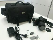 Nikon D D90 12.3MP Digital SLR Camera - AF-S DX 18-55mm Lens ONLY 6852 CLICKS!