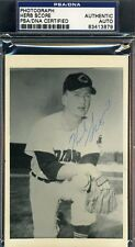 Herb Score Signed Psa/dna Certified Photo Authentic Autograph