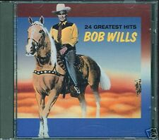 Rare HTF! 24 Greatest Hits Bob Wills CD Excellent!
