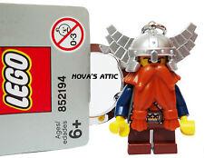 LEGO CASTLE DWARF KEYRING KEYCHAIN NEW ORIGINAL RARE