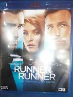 RUNNER RUNNER FILM IN BLU-RAY NUOVO DA NEGOZIO - COMPRO FUMETTI SHOP