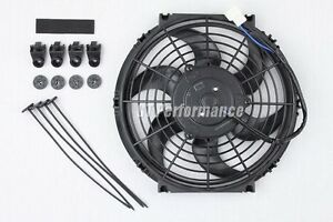 Ventilateur Extra Plat 290mm Universel 160W Ventilo Type Spal pour Radiateur