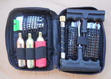 4x4,Motorcycle, Bike, Car Tyre Inflator Repair kit with CO2 Cartridges, 13 Pce