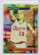 """1993-94 TOPPS FINEST #8 MARK JACKSON """"REFRACTOR"""" - LOS ANGELES CLIPPERS"""