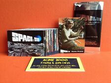 Gerry Anderson Space 1999 Unstoppable Basic Set 54 Trading Cards + Dealer Promo
