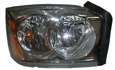 New Replacement Chrome Headlight Assembly RH / FOR 2005-07 DODGE DAKOTA