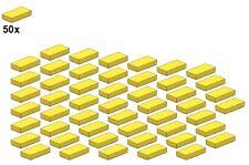 Used LEGO® - Smooth Parts - Yellow - 3069b-03 - 1x2 (50Stk) - Fliese - Gelb