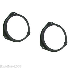 CT25FT07 FIAT GRANDE PUNTO 2005 ONWARDS FRONT DOOR 165MM SPEAKER ADAPTERS