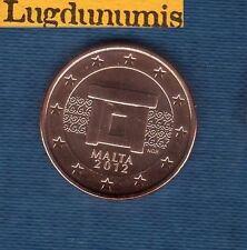 Malte 2012 - 5 centimes d'Euro - Pièce neuve de rouleau - Malta