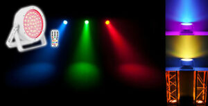 Chauvet DJ EZpar 64 RGBA Battery Power SlimPar Portable Par LED Wash Light White