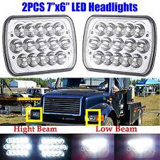 2pcs LED Headlights For International Truck 3800 4700 4800 4900 8100 8200 95 -04