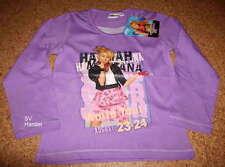 HANNAH MONTANA - Langarm Shirt  - Pullover - Sweatshirt Gr. 128 <(K2)<