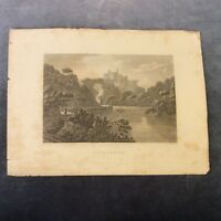 Antique Book Print - Cilgarran, Wales - Early 1800s