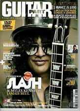 "GUITAR PART #218 ""Slash,Jack White,Jim Marshall"" (REVUE+DVD)"