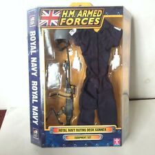 HM ARMED FORCES ROYAL NAVY Rating Deck Gunner 2009 outfit equipment set NEW 1:6