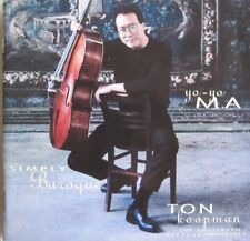 YO-YO MA - TON KOOPMAN - THE AMSTERDAM BAROQUE ORCHESTRA = SIMPLY BAROQUE  - CD