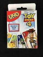 Disney Pixar TOY STORY 4 Uno Card Game Limited Edition Special Rule 2019 NEW