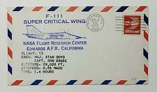 1975 FDC F-111 Super Critical Wing 13c Airmail NASA Flight Research Center #73