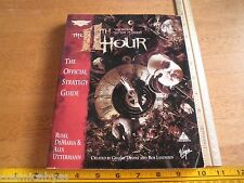 The 11th Hour book strategy guide VINTAGE Official Secrets of game 7th Guest