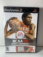 NCAA March Madness 08 (Sony PlayStation 2, PS2) Brand New Factory Sealed