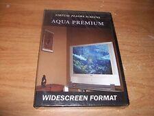 Vertual Plasma Screens Aqua Premium DVD 14 Super Tanks Sharks Sea Horses NEW