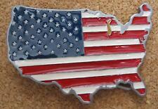 Gürtelschnalle Buckle USA Amerika Fahne