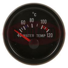 NEW 1` X ELECTRICAL WATER TEMPERATURE GAUGE & SENDER 12V  52Mm Mtr1003B12