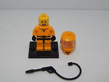 Lego Minifigure Series 4 Hazmat Guy With Accessories