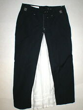 New Womens 27 6 High Skirt Blue White Long NWT 42 Italy Designer Claire Campbell